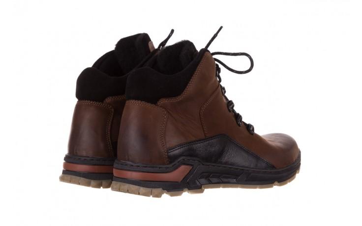 Półbuty bayla-081 903 cuoio, brąz, skóra naturalna  - trzewiki - buty męskie - mężczyzna 3