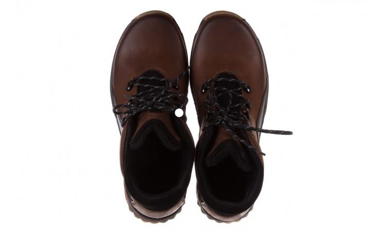 Półbuty bayla-081 903 cuoio, brąz, skóra naturalna  - trzewiki - buty męskie - mężczyzna 4