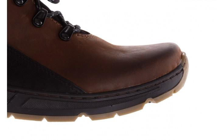 Półbuty bayla-081 903 cuoio, brąz, skóra naturalna  - buty męskie - mężczyzna 5