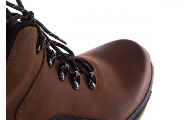 Półbuty bayla-081 903 cuoio, brąz, skóra naturalna  - trzewiki - buty męskie - mężczyzna 6