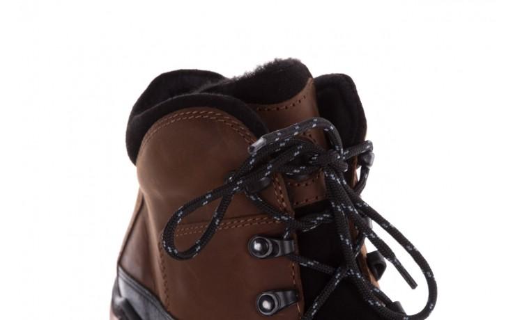 Półbuty bayla-081 903 cuoio, brąz, skóra naturalna  - trzewiki - buty męskie - mężczyzna 7