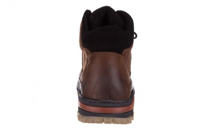 Półbuty bayla-081 903 cuoio, brąz, skóra naturalna  - trzewiki - buty męskie - mężczyzna 8