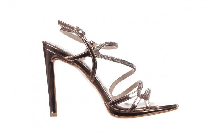 Sandałki bayla-187 589-531 róż, skóra ekologiczna  - na obcasie - sandały - buty damskie - kobieta