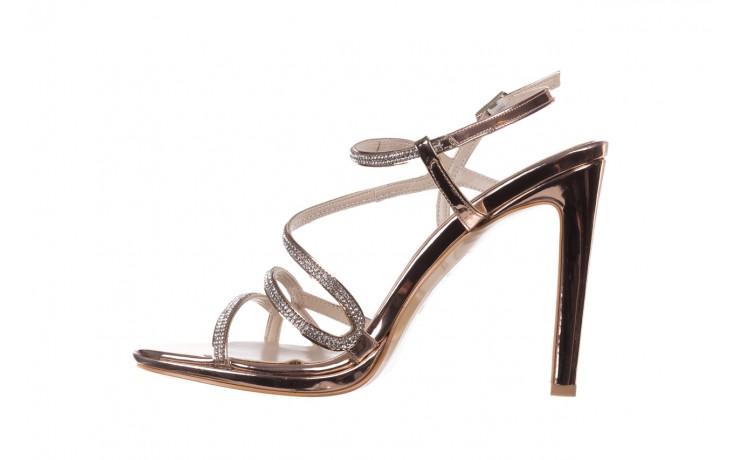 Sandałki bayla-187 589-531 róż, skóra ekologiczna  - na obcasie - sandały - buty damskie - kobieta 2