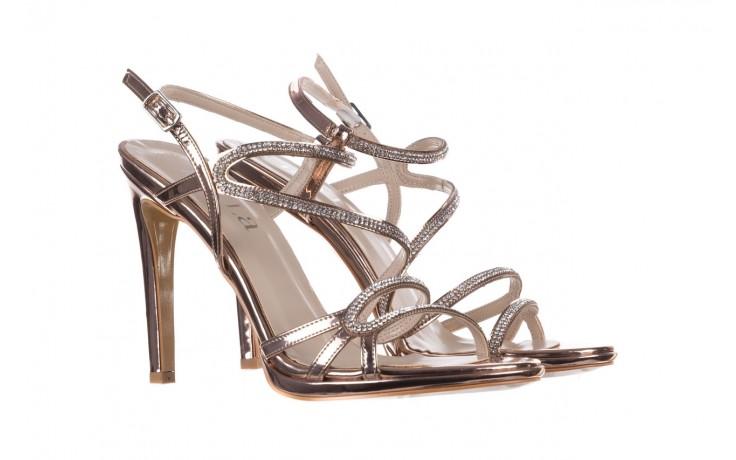 Sandałki bayla-187 589-531 róż, skóra ekologiczna  - na obcasie - sandały - buty damskie - kobieta 1