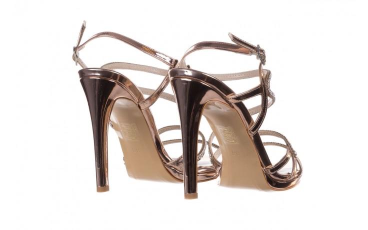 Sandałki bayla-187 589-531 róż, skóra ekologiczna  - na obcasie - sandały - buty damskie - kobieta 3