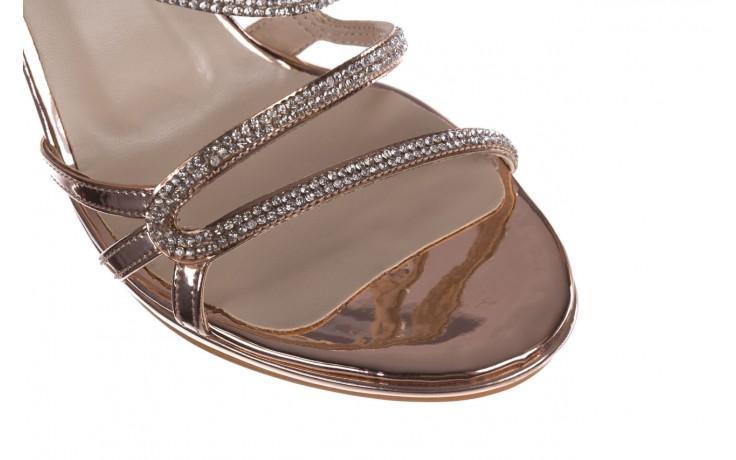 Sandałki bayla-187 589-531 róż, skóra ekologiczna  - na obcasie - sandały - buty damskie - kobieta 5
