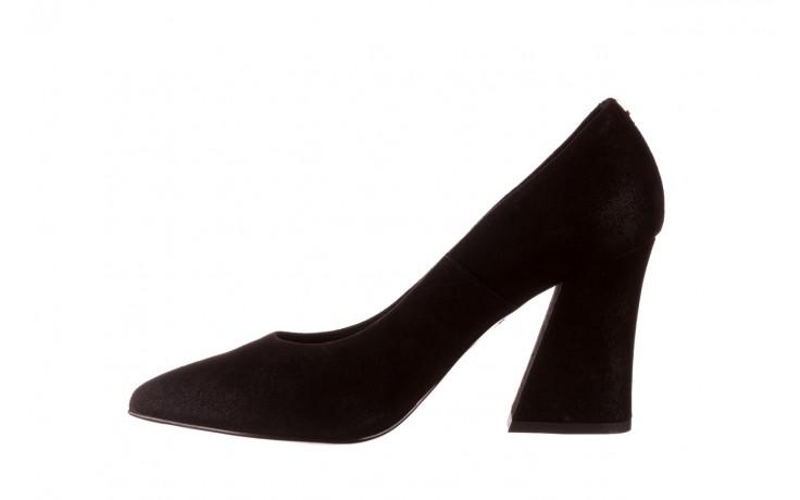 Czółenka bayla-056 9570-1445 czarny zamsz, skóra naturalna  - zamszowe - czółenka - buty damskie - kobieta 2