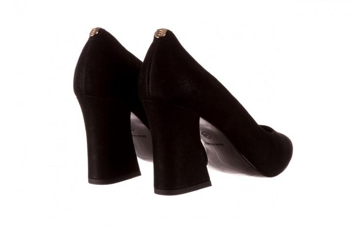 Czółenka bayla-056 9570-1445 czarny zamsz, skóra naturalna  - zamszowe - czółenka - buty damskie - kobieta 3