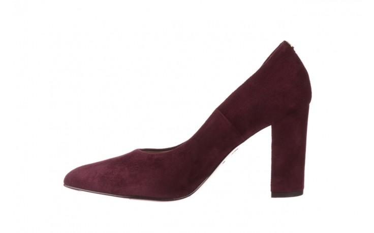 Czółenka bayla-056 9119-1321 fiolet zamsz, skóra naturalna  - na słupku - czółenka - buty damskie - kobieta 2