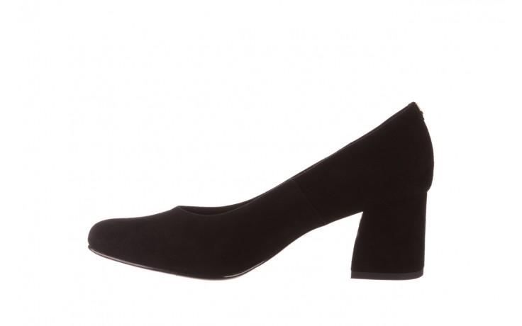 Czółenka bayla-056 9469-21 czarny zamsz, skóra naturalna  - zamszowe - czółenka - buty damskie - kobieta 2
