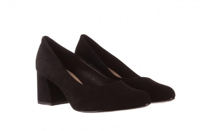 Czółenka bayla-056 9469-21 czarny zamsz, skóra naturalna  - zamszowe - czółenka - buty damskie - kobieta 1