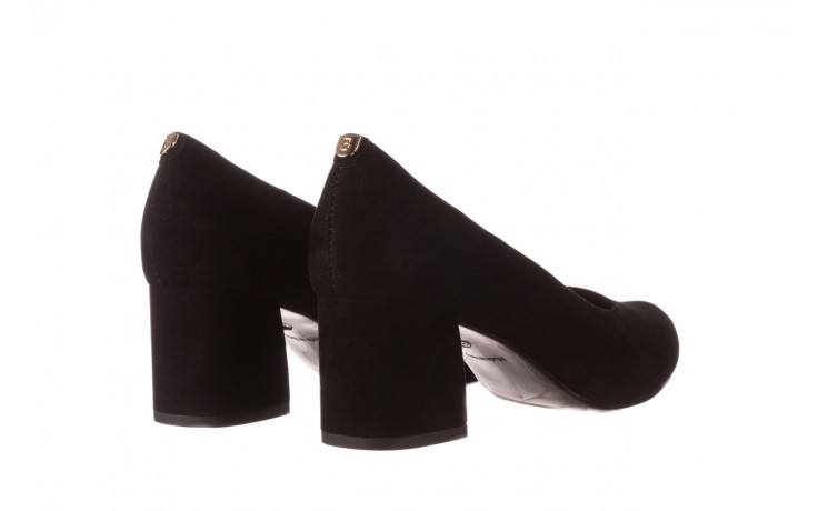 Czółenka bayla-056 9469-21 czarny zamsz, skóra naturalna  - zamszowe - czółenka - buty damskie - kobieta 3
