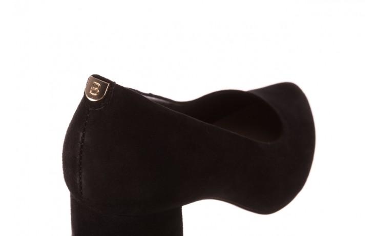 Czółenka bayla-056 9469-21 czarny zamsz, skóra naturalna  - zamszowe - czółenka - buty damskie - kobieta 5