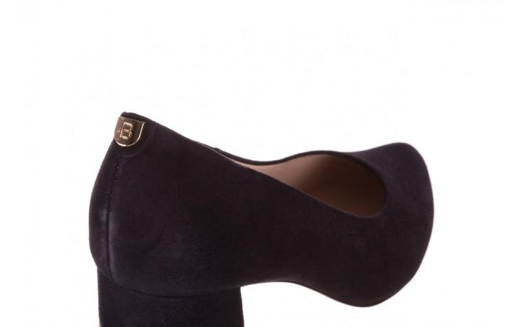 Czółenka bayla-056 9469-488 granat zamsz, skóra naturalna  - zamszowe - czółenka - buty damskie - kobieta 5
