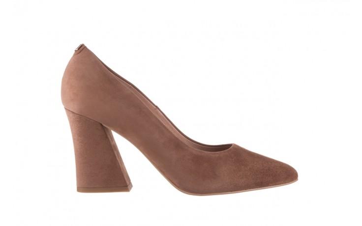 Czółenka bayla-056 9570-1508 beż zamsz, skóra naturalna  - zamszowe - czółenka - buty damskie - kobieta