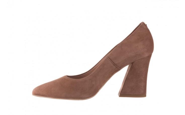 Czółenka bayla-056 9570-1508 beż zamsz, skóra naturalna  - zamszowe - czółenka - buty damskie - kobieta 2
