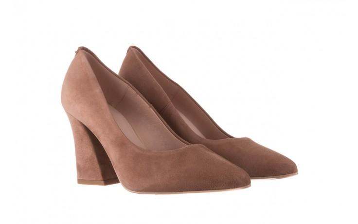 Czółenka bayla-056 9570-1508 beż zamsz, skóra naturalna  - zamszowe - czółenka - buty damskie - kobieta 1