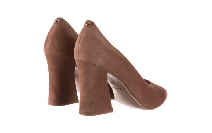 Czółenka bayla-056 9570-1508 beż zamsz, skóra naturalna  - zamszowe - czółenka - buty damskie - kobieta 3