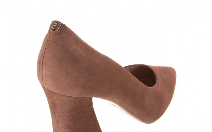 Czółenka bayla-056 9570-1508 beż zamsz, skóra naturalna  - zamszowe - czółenka - buty damskie - kobieta 5