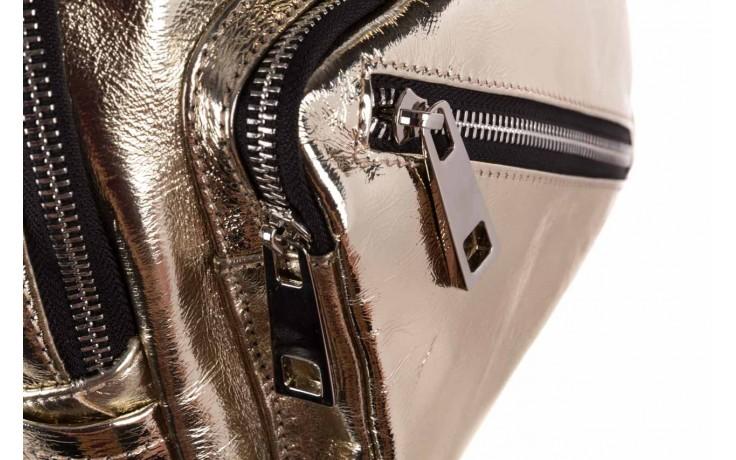 Plecak sca'viola torebka t-84 gold, złoty, skóra naturalna  - plecaki - torebki - akcesoria - kobieta 4