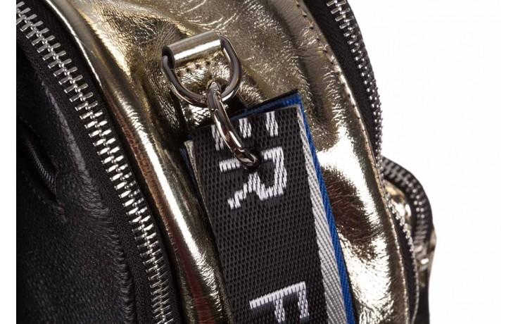 Plecak sca'viola torebka t-84 gold, złoty, skóra naturalna  - plecaki - torebki - akcesoria - kobieta 5