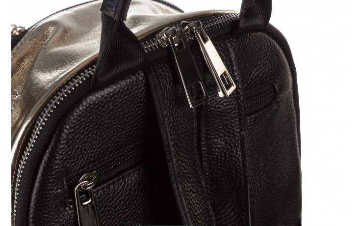 Plecak sca'viola torebka t-84 gold, złoty, skóra naturalna  - plecaki - torebki - akcesoria - kobieta 6