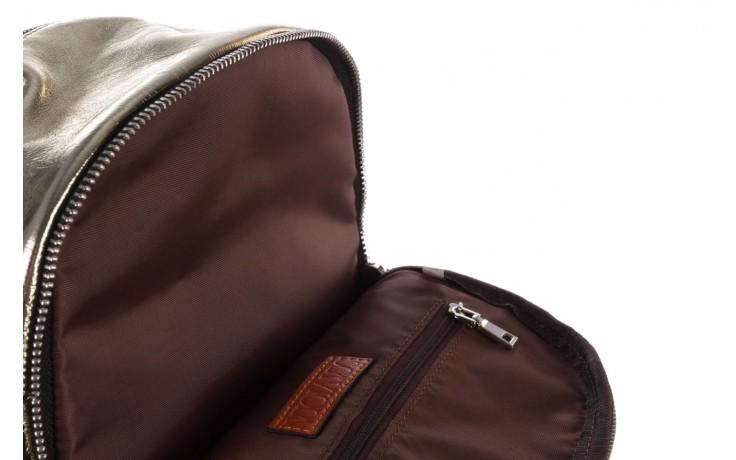 Plecak sca'viola torebka t-84 gold, złoty, skóra naturalna  - plecaki - torebki - akcesoria - kobieta 7