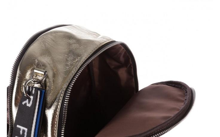 Plecak sca'viola torebka t-84 gold, złoty, skóra naturalna  - plecaki - torebki - akcesoria - kobieta 8