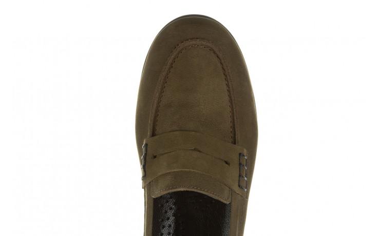 Półbuty bayla-196 168201 d87 196013, zielony, skóra naturalna  - zamszowe - półbuty - buty damskie - kobieta 7
