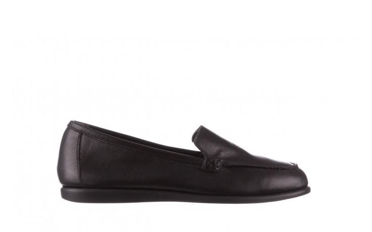 Półbuty bayla-196 168504 d44 196015, czarny, skóra naturalna  - skórzane - półbuty - buty damskie - kobieta