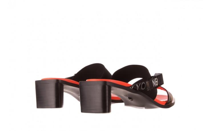 Klapki sca'viola e-48 black, czarny, skóra naturalna - sca`viola - nasze marki 3