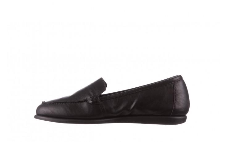 Półbuty bayla-196 168504 d44 196015, czarny, skóra naturalna  - skórzane - półbuty - buty damskie - kobieta 3