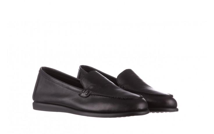 Półbuty bayla-196 168504 d44 196015, czarny, skóra naturalna  - skórzane - półbuty - buty damskie - kobieta 1