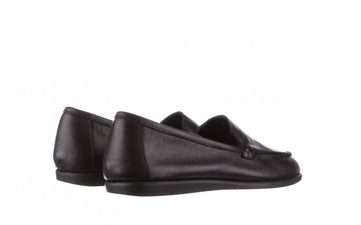 Półbuty bayla-196 168504 d44 196015, czarny, skóra naturalna  - skórzane - półbuty - buty damskie - kobieta 4