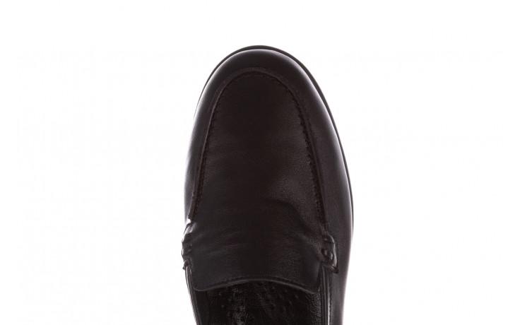 Półbuty bayla-196 168504 d44 196015, czarny, skóra naturalna  - skórzane - półbuty - buty damskie - kobieta 7