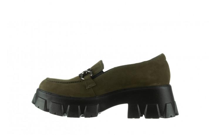 Półbuty bayla-196 20ef126-06 d87 196022, zielony, skóra naturalna  - półbuty - buty damskie - kobieta 3
