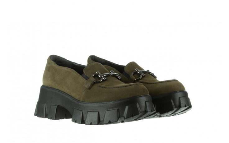 Półbuty bayla-196 20ef126-06 d87 196022, zielony, skóra naturalna  - półbuty - buty damskie - kobieta 1