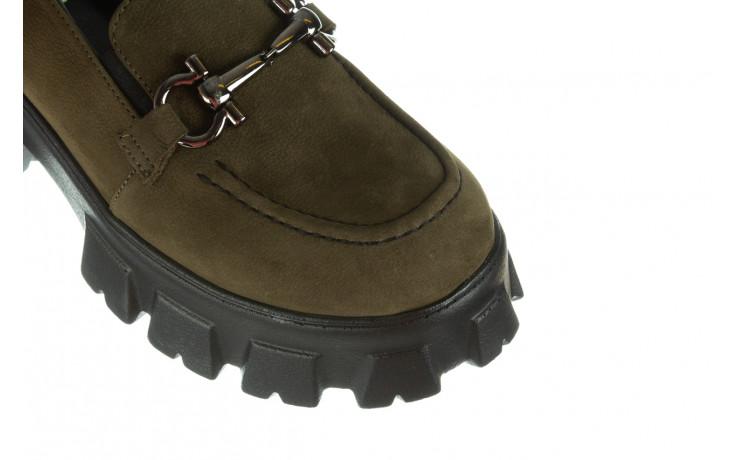 Półbuty bayla-196 20ef126-06 d87 196022, zielony, skóra naturalna  - półbuty - buty damskie - kobieta 8