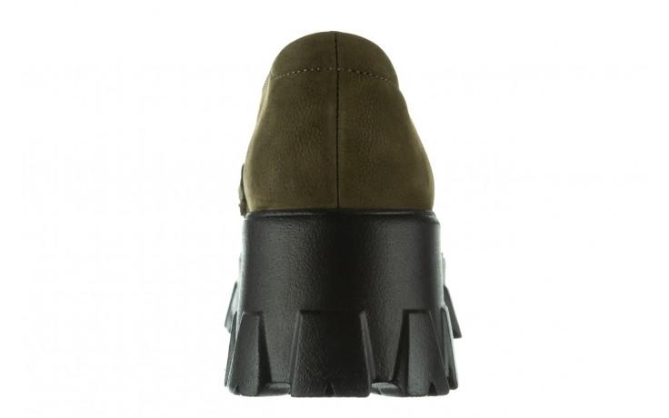 Półbuty bayla-196 20ef126-06 d87 196022, zielony, skóra naturalna  - półbuty - buty damskie - kobieta 9