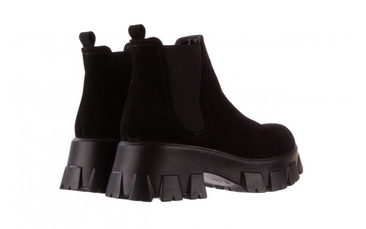 Botki bayla-196 20ef126-01 y16 196016, czarny, skóra naturalna  - buty zimowe - trendy - kobieta 4