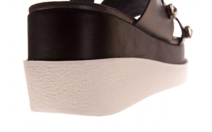 Klapki sca'viola b-185 black, czarny, skóra naturalna  - sca`viola - nasze marki 8