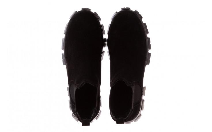 Botki bayla-196 20ef126-01 y16 196016, czarny, skóra naturalna  - buty zimowe - trendy - kobieta 5