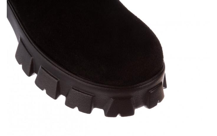Botki bayla-196 20ef126-01 y16 196016, czarny, skóra naturalna  - buty zimowe - trendy - kobieta 6