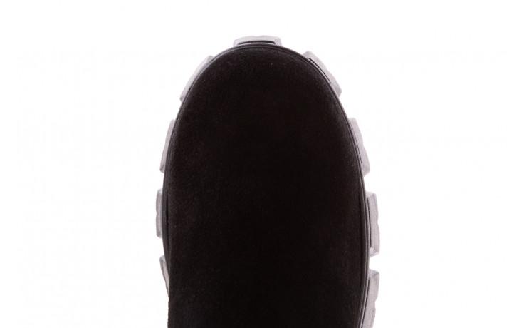 Botki bayla-196 20ef126-01 y16 196016, czarny, skóra naturalna  - buty zimowe - trendy - kobieta 7