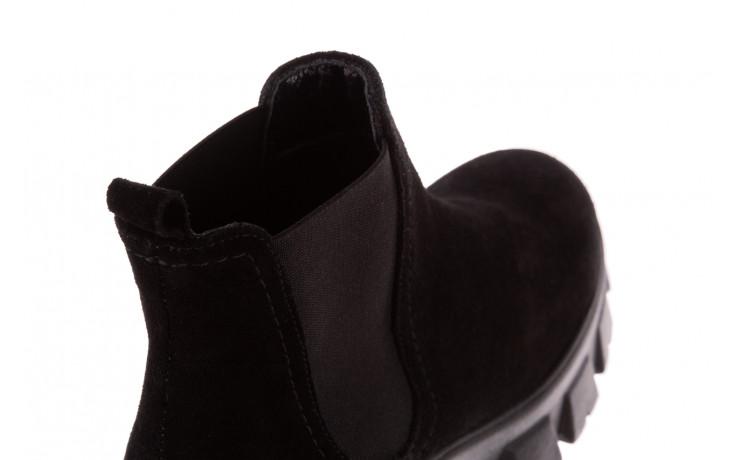 Botki bayla-196 20ef126-01 y16 196016, czarny, skóra naturalna  - buty zimowe - trendy - kobieta 9