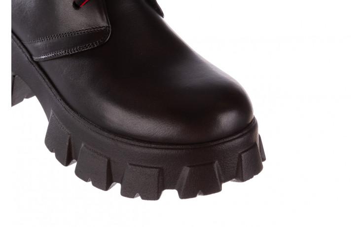 Botki bayla-196 20ef126-02 d44 196018, czarny, skóra naturalna  - botki - buty damskie - kobieta 6
