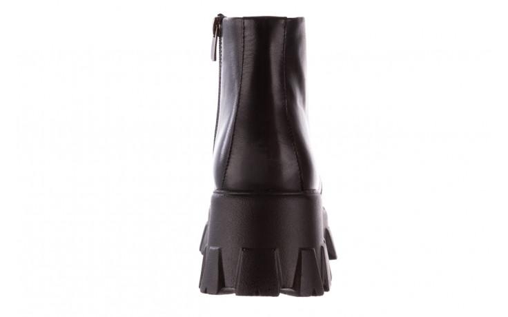 Botki bayla-196 20ef126-02 d44 196018, czarny, skóra naturalna  - botki - buty damskie - kobieta 9