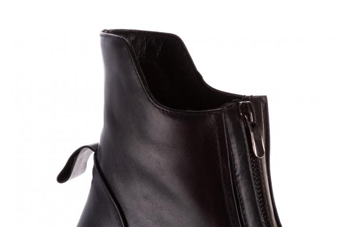 Botki bayla-196 15038-04 d44 196010, czarny, skóra naturalna 10