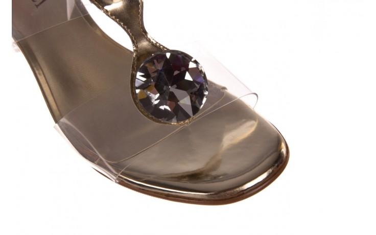 Klapki sca'viola g-29 gold, złoty, silikon  - sca`viola - nasze marki 5